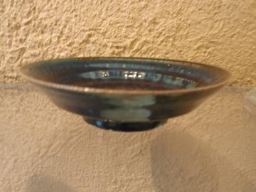 臼田けい子さんの瑠璃、紺 、白のうつわたち_b0132442_17294687.jpg