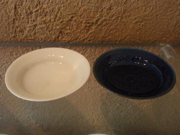 臼田けい子さんの瑠璃、紺 、白のうつわたち_b0132442_175488.jpg