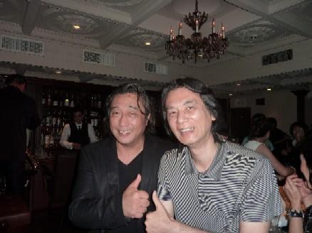 2010-07-22 中村誠一カルテット@銀座「Bar Chase」_e0021965_1158594.jpg