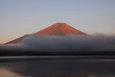 赤富士現る_c0193896_11512999.jpg