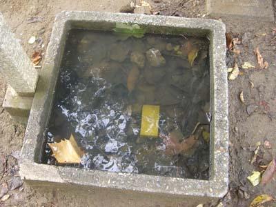 排水の不具合、夏祭りまでに改善を_a0162505_10345583.jpg