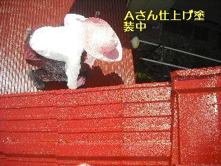 屋根塗装・・完成_f0031037_20431475.jpg