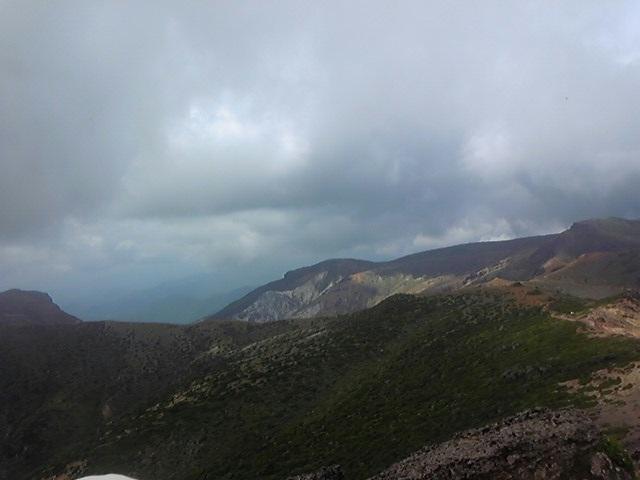 ふいの雨に思い知る~山と湖の旅①_c0049455_2350360.jpg