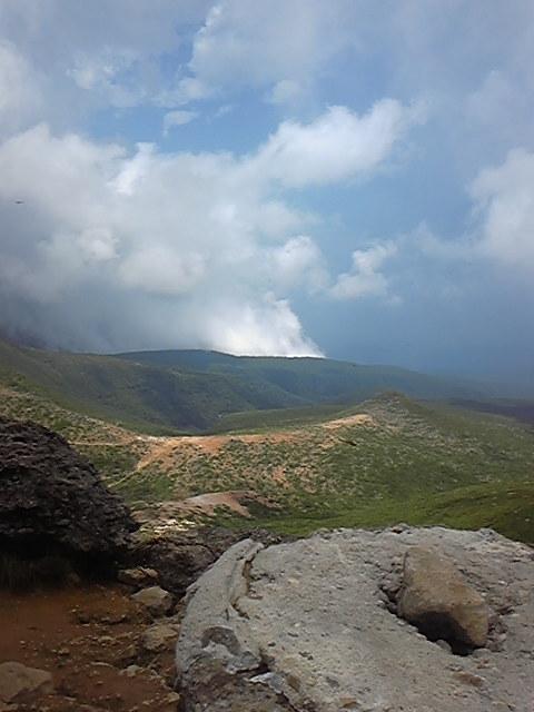 ふいの雨に思い知る~山と湖の旅①_c0049455_23511882.jpg