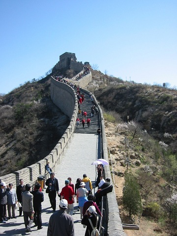 北京  2004 万里の長城_d0158258_12271045.jpg