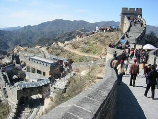 北京  2004 万里の長城_d0158258_12283273.jpg