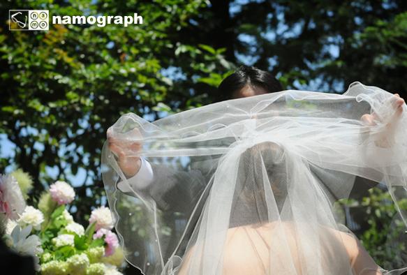 夏の結婚式は、暑さと共にみんなの記憶に残っている・・・_a0165860_1647130.jpg