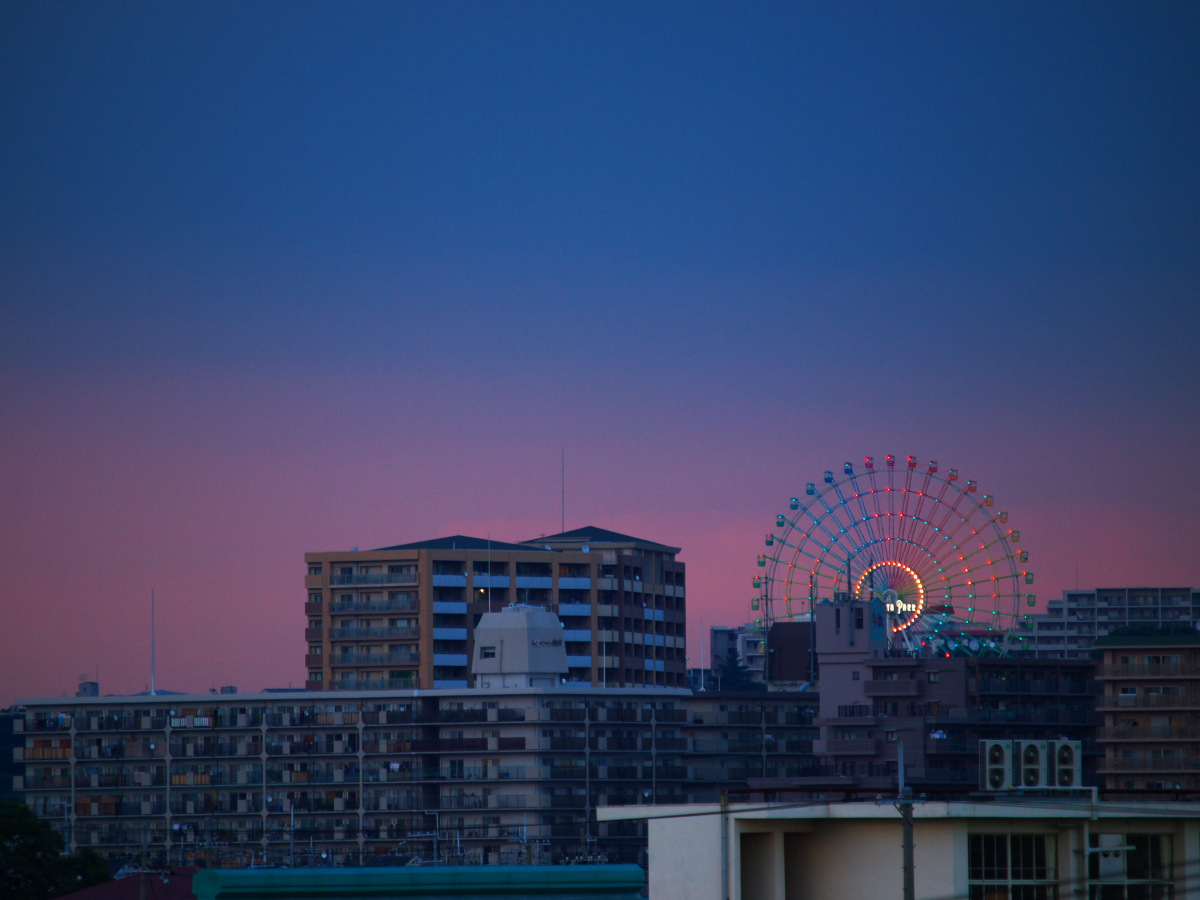 夕焼け_f0021869_23154098.jpg