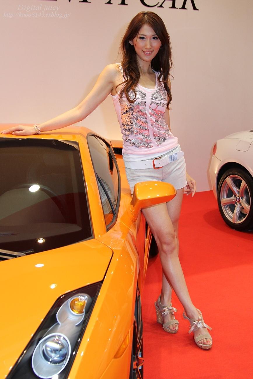 井上吉亜 さん(DIREX RENT A CAR ブース)_c0216181_0384196.jpg
