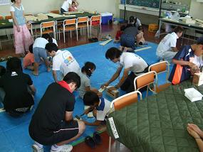 夏休み親子木工教室!_a0129841_2032099.jpg