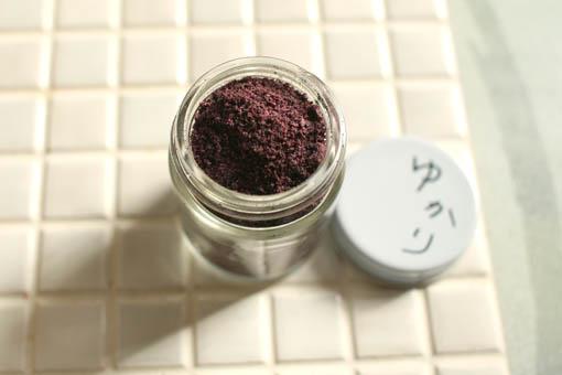 紫蘇ジュースと自家製ゆかり_c0182144_21111257.jpg