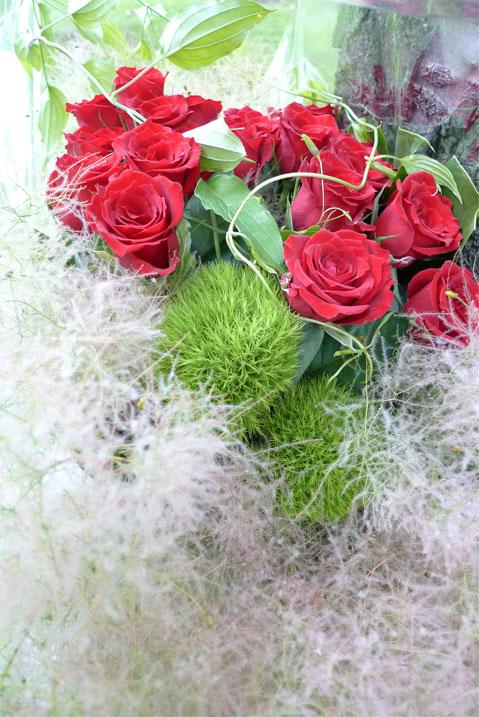 赤バラの花束_b0171193_164627.jpg