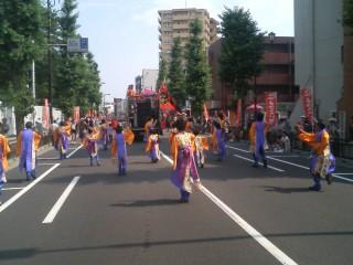 ひのよさこい祭り_f0214534_1121157.jpg