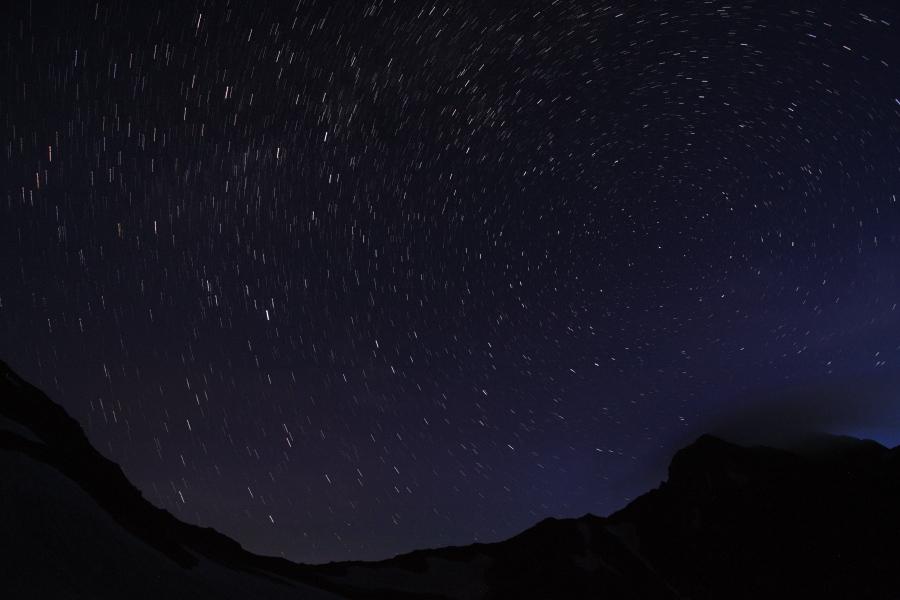 立山連峰山荘めぐり&立山縦走(逆縦走?)~剱澤小屋からの星空(コンポジット星撮影)~_b0157849_414297.jpg