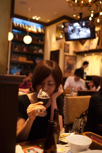 暑いとビール_c0092152_0122382.jpg
