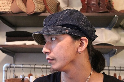 DECHO bikers cap と kome cap_d0121303_13273243.jpg