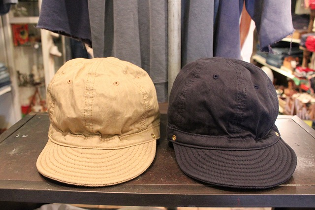 DECHO bikers cap と kome cap_d0121303_13313396.jpg