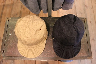 DECHO bikers cap と kome cap_d0121303_13351868.jpg
