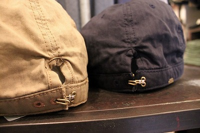 DECHO bikers cap と kome cap_d0121303_1335255.jpg