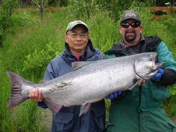 アラスカで釣り (キングサーモン)_b0135948_2405885.jpg