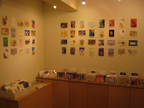 第14回 POST CARD 300人展  開催中_e0134502_958782.jpg