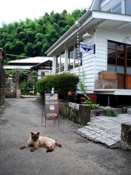 ネコヤド路地のカフェ Cafe響茶庵_c0177814_111693.jpg