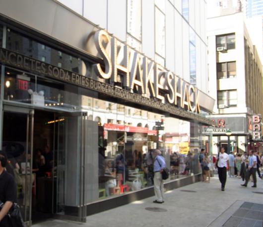 NY No1ハンバーガー シェイク・シャックがNYに5店舗目をオープン_b0007805_0332996.jpg