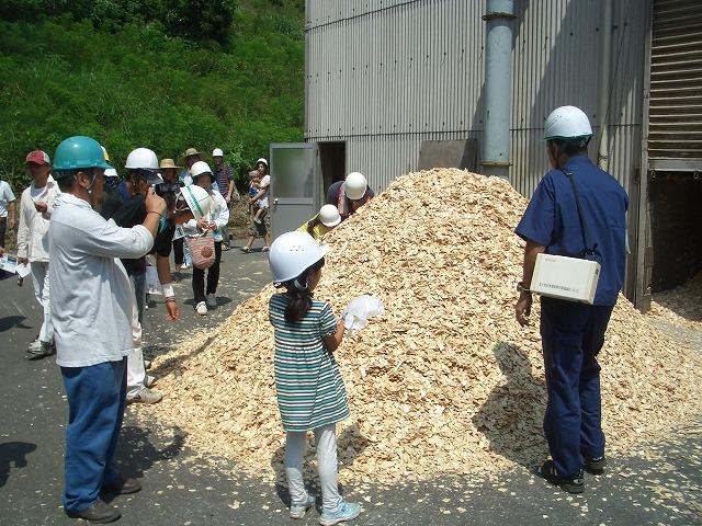 暑かった「木こりツアー」で富士ひのき加工協同組合へ_f0141310_23155077.jpg