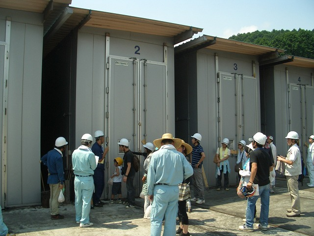 暑かった「木こりツアー」で富士ひのき加工協同組合へ_f0141310_23161841.jpg