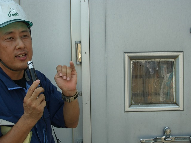 暑かった「木こりツアー」で富士ひのき加工協同組合へ_f0141310_23163743.jpg