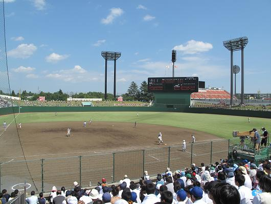 高校野球 決勝 埼玉大会_d0150720_10204071.jpg