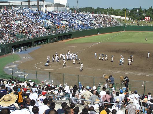 高校野球 決勝 埼玉大会_d0150720_10213668.jpg