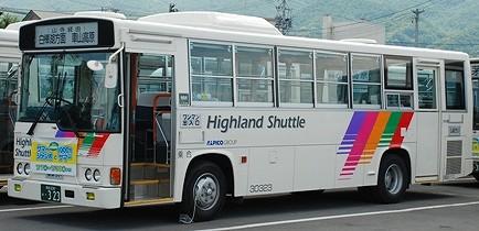 諏訪バスのレインボー 3題_e0030537_23424164.jpg