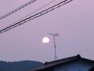 夏の夕日。_e0188087_23571026.jpg