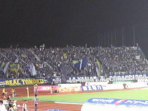 応援のチカラ <サッカーJ1・M山形vs川崎F>_d0129296_2111512.jpg