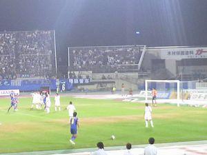 応援のチカラ <サッカーJ1・M山形vs川崎F>_d0129296_21123011.jpg