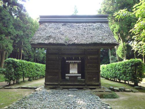 桜井大神宮・伊勢の内宮外宮が一緒に祀られている_c0222861_13315924.jpg