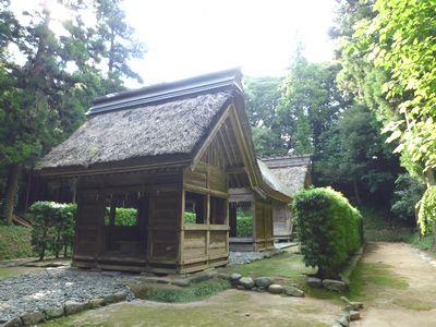 桜井大神宮・伊勢の内宮外宮が一緒に祀られている_c0222861_2124866.jpg