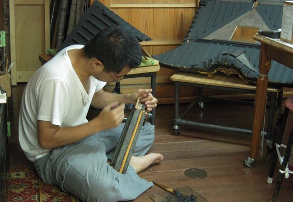 林幽寺のお厨子の修理 その9 屋根下地付け2_c0213599_0401850.jpg