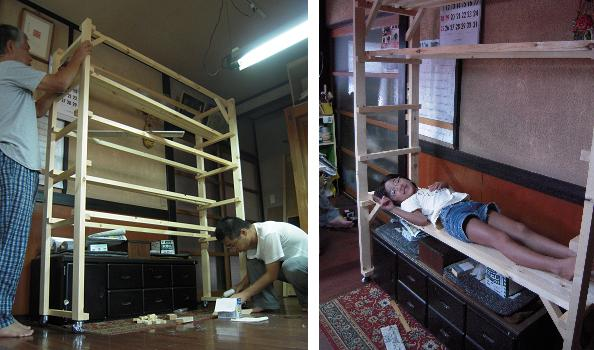 林幽寺のお厨子の修理 その9 屋根下地付け2_c0213599_103383.jpg