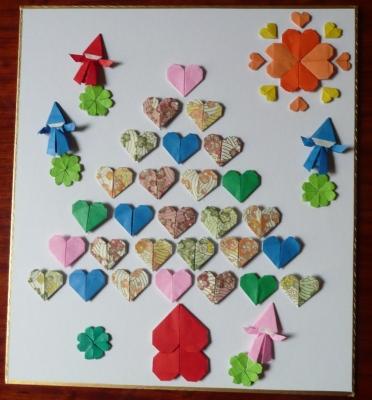 折り紙の 折り紙のハートの折り方 : cappy3.exblog.jp