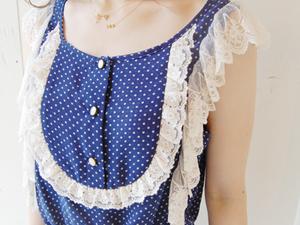 nadesicoキュートなドットサロペ☆ by Mai_f0053343_17492225.jpg
