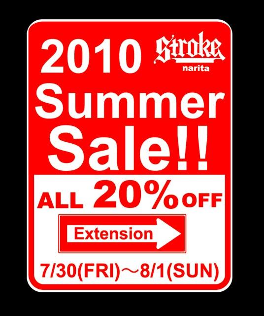 STROKE SUMMER SALE_d0101000_12561592.jpg
