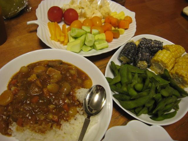 初めて採れた野菜など_e0121558_2313575.jpg