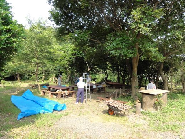 「夏休み工作」…竹かざぐるま&かたつむりを作ろう!!_c0108460_1344949.jpg