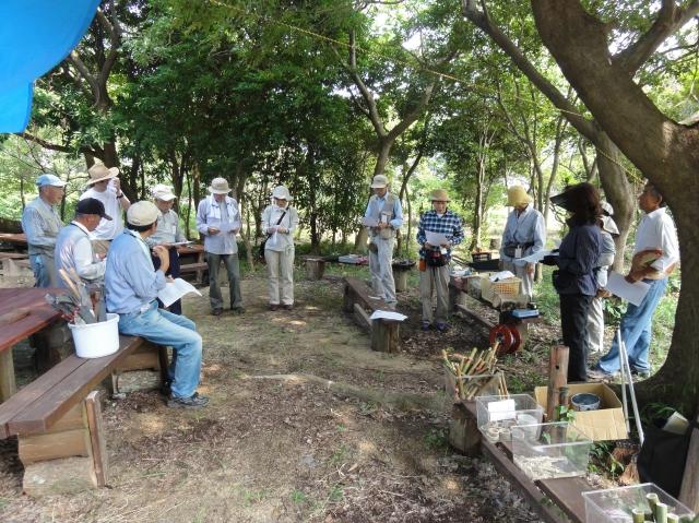 「夏休み工作」…竹かざぐるま&かたつむりを作ろう!!_c0108460_1352424.jpg