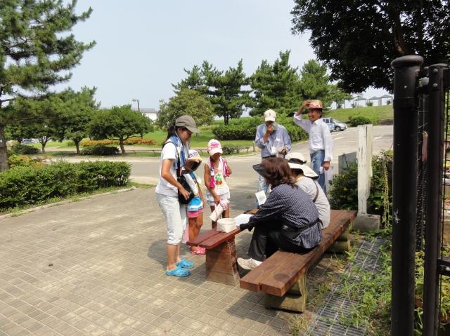 「夏休み工作」…竹かざぐるま&かたつむりを作ろう!!_c0108460_1362660.jpg