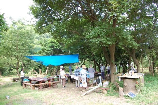 「夏休み工作」…竹かざぐるま&かたつむりを作ろう!!_c0108460_1383821.jpg