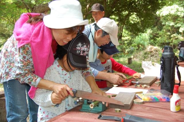 「夏休み工作」…竹かざぐるま&かたつむりを作ろう!!_c0108460_1413894.jpg