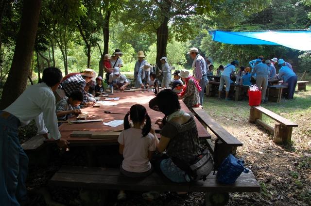 「夏休み工作」…竹かざぐるま&かたつむりを作ろう!!_c0108460_144341.jpg